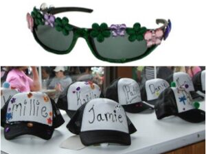 Glasses and hat crafts